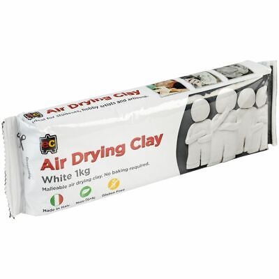 Educational Colours Air Drying Clay 1kg White