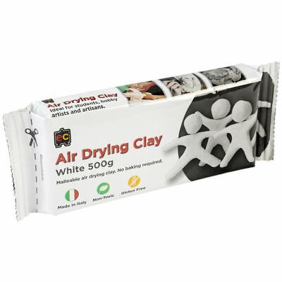 Educational Colours Air Drying Clay 500g White