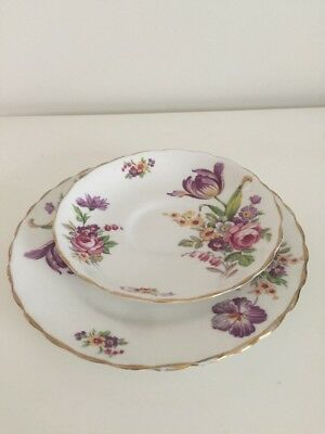Tuscan Montrose Saucer & Plate Replacement Spares Fine English Bone China