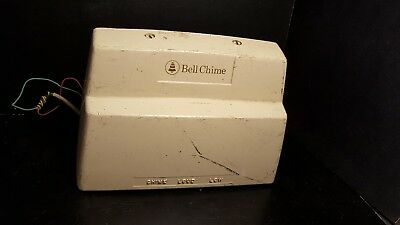 Vtg Bell System Western Electric Bell Chime 3 Settings: Chime, Low.  Works