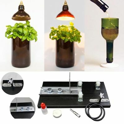 Glass Bottle Cutter Kit Craft glass cutting machine tool for jar recycle DIY NEW