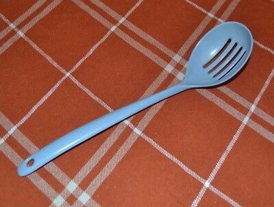 Vintage COPCO light blue Melamine Slotted spoon Kitchen Utensil