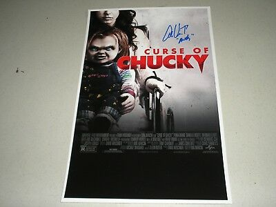 ALEX VINCENT Signed Curse of Chucky 11x17 Movie Poster Autograph Child's Play