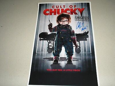 ALEX VINCENT Signed Cult of Chucky 11x17 Movie Poster Autograph Child's Play