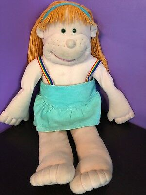 Vintage 80's - The Real Rigadoon - Gang / Puppet / Doll - Orange Hair