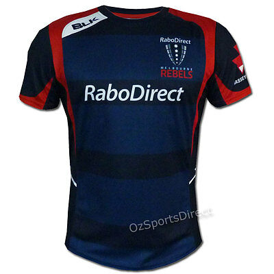 Melbourne Rebels 2015 Training T Shirt EXTRA LARGE *SALE PRICE*