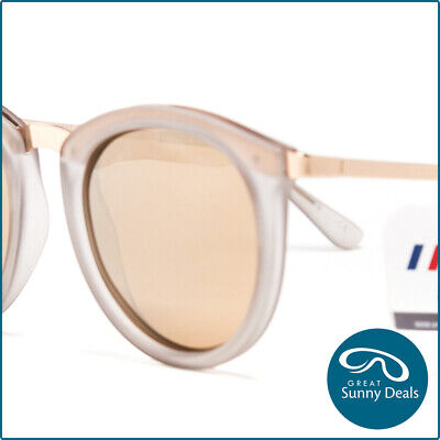 55154a89be New Le Specs Polarised No Smirking Matte Ice Gold Sunglasses (1702031) rrp  90