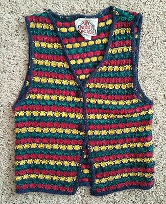 Vintage Penny Arcade Knitted Vest | Medium (5/6)