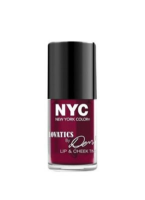 Nyc New York Color Lovatics By Demi Lip & Cheek Tint #004 Cheeky Berry Sealed