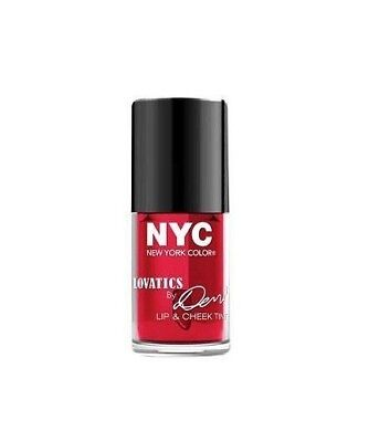 Nyc New York Color Lovatics By Demi Lip & Cheek Tint #002 Cheeky Red *sealed*