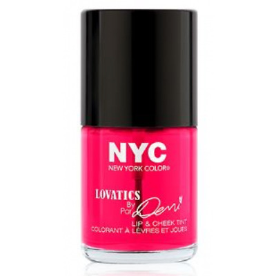 Nyc New York Color Lovatics By Demi Lip & Cheek Tint #001 Cheeky Pink *sealed*