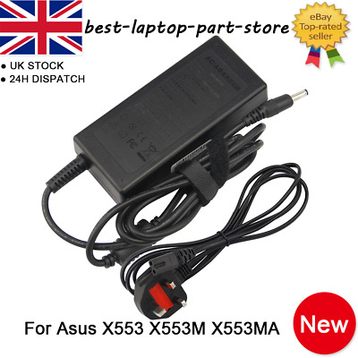 Asus X553M Compatible Laptop Power AC Adapter Charger