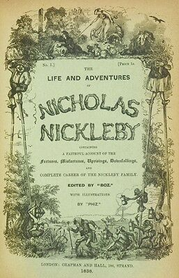 Nicholas Nickleby Audio Book Charles Dickens MP 3 CD 11 Hrs Unabridged
