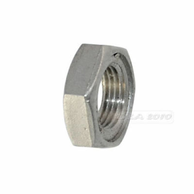 "1/2"" Lock Nut Stainless Steel SS 304 O-Ring Groove Pipe Fits Lock Nut NPT"