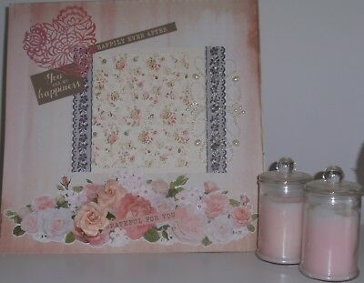 Handmade Scrapbook page - You are My Happiness
