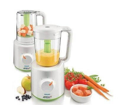 Philips AVENT Steamer and Blender BPA Free (11964) +++ NEW SEALED +++