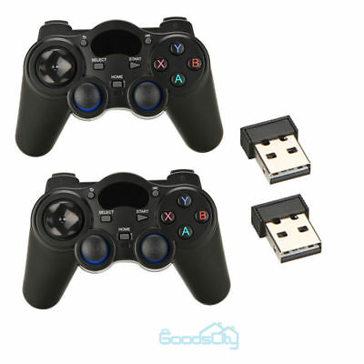 2.4G Wireless Game Controller Game pad Joystick for Android TV Box Tablets PC BT