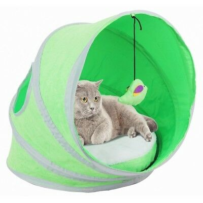 Pawise Refugios Pop-Up Play Para Gatos Para Gatos Mascotas Juguetes