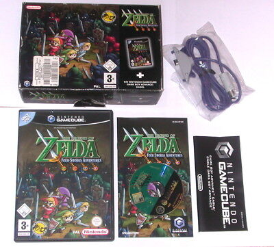 "Gamecube Spiel "" The Legend Of Zelda Four Swords Advenrutes "" Big Box Komplett"