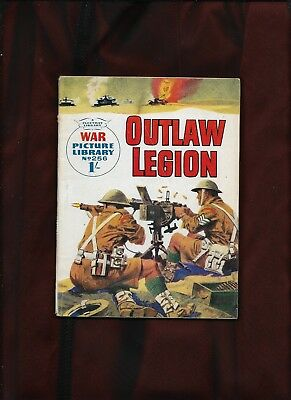 War Picture Library #256_Outlaw Legion_Sept. 1964_Nice Copy