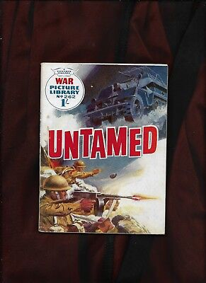 War Picture Library #262_Untamed_Oct 1964_Nice Copy
