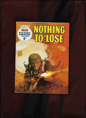 War Picture Library #263_Nothing To Lose_Oct.1964_Nice Copy