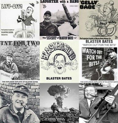 Blaster Bates Complete Collection All 9 Volumes on 1 x MP 3 CD 6 Hours 45 Mins