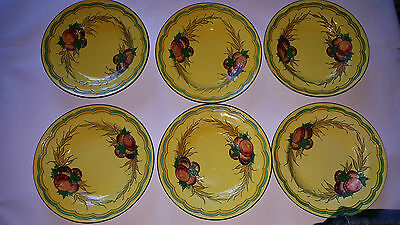 X6 MINTON SECESSIONIST SMALL BOWLS - Tube Lined Decoration