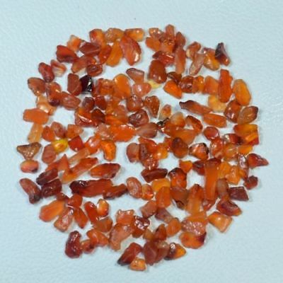 Aaa Quality 50 Ct Scoop Natural Red Carnelian Rough Gemstone Loose Wholesale Lot