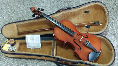 Artist Solid Wood Violin Package 4/4 - Full Size