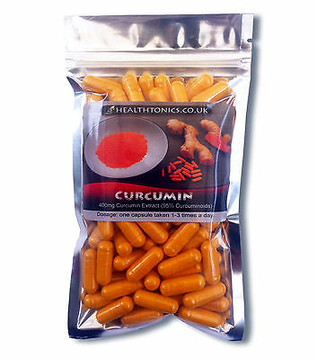 Turmeric Extract  Veg Capsule,  400mg Curcumin  ( supplying 95% Curcuminoids)