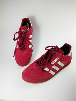 Scarpe Adidas Originals Jeans Super Red White Gold - Rosse - Casuals Ultras.