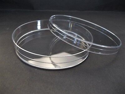 PACK OF 25 PLASTIC DISPOSABLE  PETRI DISH PS 92 mm