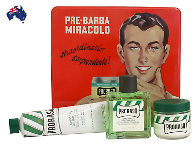 New Proraso Vintage Giftbox Kit Refresh Gino -Aus Seller