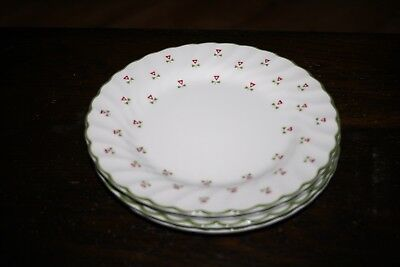 "4 LAURA ASHLEY ""THISTLE"" SIDE PLATES (Johnson Brothers)"