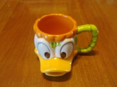 Disney Parks Donald Duck Happy Halloween Pumpkin Souvenir Mug