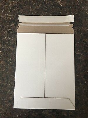ULine S-2665 9 3/4 x 12 1/4 White Self Seal Stay Flat Envelopes  24 Count