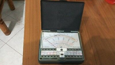 Multimetro Analogico Professionale Supertester ICE 680R tester IV serie ad ago