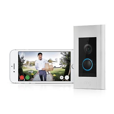 Ring Doorbell Elite - Klingel/Nachtsicht/Video/Sprechanlage/WLAN - NEU&OVP -