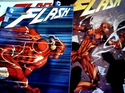 The FLASH New 52  # 44, 46, 51 (Romita Variant), 52 & Annual # 4 (Reverse Flash)