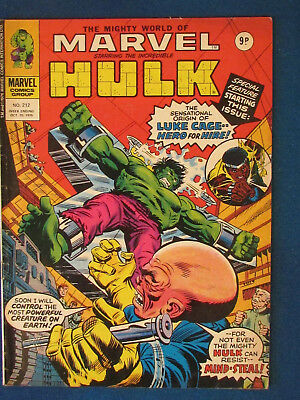 The Mighty World of Marvel - Incredible Hulk - Issue 212 - 1976 - Print error