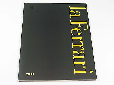 Ferrari 360 550 456M Full Line Sales Brochure Catalog 2000