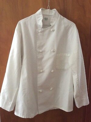 Chef's Jacket~Medium~Double Breasted~Unisex~ White
