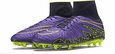 the latest 9a744 35a94 NIKE HYPERVENOM PHANTOM II FG Soccer Cleats Grape Purple 747213 550 Mens US  13