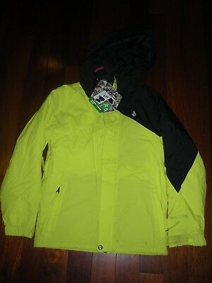 bdc7fe143 VOLCOM YOUTH JUNIORS Tracker Insulated Jacket Medium Outerwear ...