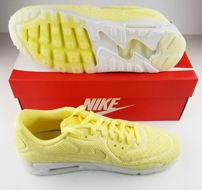 hot sale online 5ab84 f74f5 Nike Air Max 90 Ultra 2.0 BR Running Shoes Lemon Chiffon Yellow 898010-700  9.5