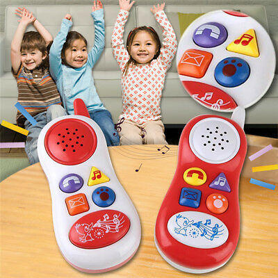 Baby Kids Learning Study Musical Sound Cell Phone Children Educational Toys NEW