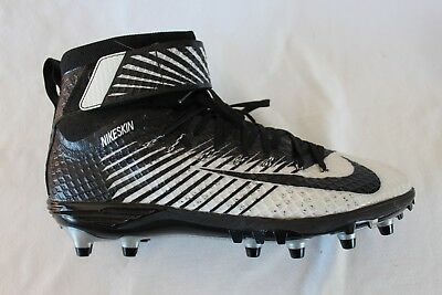 sports shoes bde7d cc8ce Nike Lunarbeast Elite TD Black White Football Cleats 779422-001 Size 12.5  Spikes
