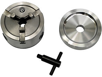 "Quick Chuck Adapter W/ 5"" Backing Plate & Optional Truck Jaws Included;"