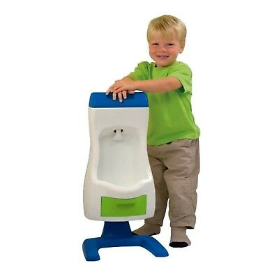 Grow'n Up 7008 Peter Potty Flushable Toddler Urinal, Cream